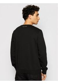 Karl Lagerfeld - KARL LAGERFELD Bluza Sweat 705082 511900 Czarny Regular Fit. Typ kołnierza: dekolt w karo. Kolor: czarny