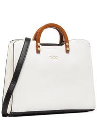 Biała torebka klasyczna Nobo klasyczna