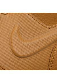 Brązowe półbuty Nike z cholewką