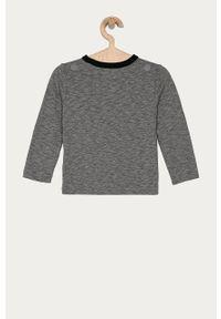 Szara koszulka z długim rękawem GAP z nadrukiem, na co dzień, casualowa #6