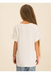 Biały t-shirt Guess