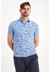 Koszulka polo Joop! Collection sportowa, z nadrukiem, polo