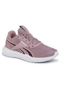 Różowe buty do fitnessu Reebok na co dzień, z cholewką