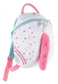 LittleLife plecak Animal Kids Backpack - Unicorn. Kolor: różowy. Wzór: motyw zwierzęcy, paski
