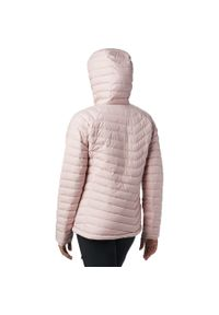 Różowa kurtka turystyczna columbia