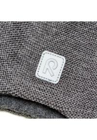Reima - Czapka REIMA - Hopea 518525 Melange Grey 9400. Kolor: szary. Materiał: wełna, materiał