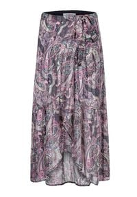 Morgan Spódnica plisowana 211-JIRIL Fioletowy Regular Fit. Kolor: fioletowy #4