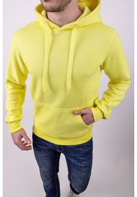 Żółta bluza IVET z kapturem