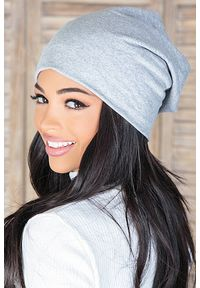Szara czapka IVET na zimę