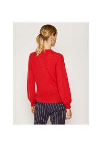 Czerwony sweter Marella