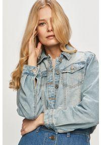 Haily's - Kurtka jeansowa. Okazja: na co dzień. Kolor: niebieski. Materiał: jeans. Styl: casual