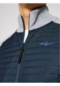 Aeronautica Militare Bluza 211AF419CT2805 Szary Regular Fit. Kolor: szary