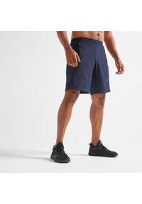 Spodenki do fitnessu DOMYOS w ażurowe wzory