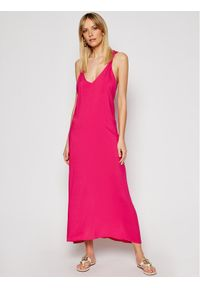 Różowa sukienka letnia Silvian Heach