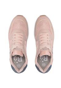 Refresh - Sneakersy REFRESH - 72894 Nude. Okazja: na co dzień, na spacer. Kolor: różowy. Materiał: skóra ekologiczna, materiał. Szerokość cholewki: normalna. Sezon: lato. Styl: casual #6