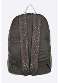 Czarny plecak Dakine w paski
