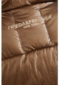 Frieda & Freddies - Kurtka. Okazja: na co dzień. Kolor: brązowy. Materiał: materiał. Styl: casual