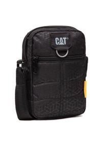 CATerpillar - Saszetka CATERPILLAR - Rodney 83437-478 Black Heat Embossed. Kolor: czarny. Materiał: materiał