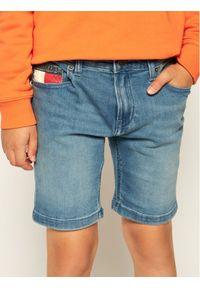 Niebieskie spodenki jeansowe TOMMY HILFIGER