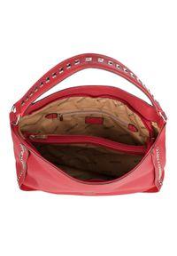 Czerwona torebka worek Wittchen rockowa #5