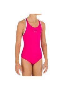 NABAIJI - Strój jednoczęściowy pływacki Leony+ dla dzieci. Kolor: wielokolorowy, turkusowy, różowy, niebieski. Materiał: poliamid, materiał, poliester, elastan