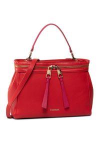 Czerwona torebka klasyczna TwinSet klasyczna