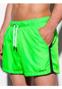 Zielone szorty Ombre Clothing z aplikacjami