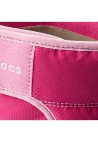 Crocs - Śniegowce CROCS - Lodgepoint Snow Boot K 204660 Candy Pink/Patry Pink. Zapięcie: rzepy. Kolor: różowy. Materiał: materiał. Sezon: zima