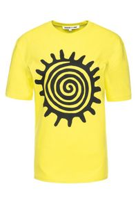 Żółty t-shirt MCQ Alexander McQueen