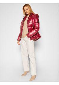 Różowa kurtka zimowa Pepe Jeans