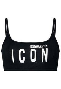 Czarny biustonosz Dsquared2 Underwear
