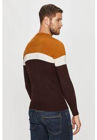 Wielokolorowy sweter Brave Soul długi, casualowy, na co dzień, z długim rękawem