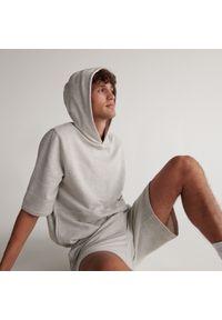 Reserved - Piżama dwuczęściowa - Jasny szary. Kolor: szary