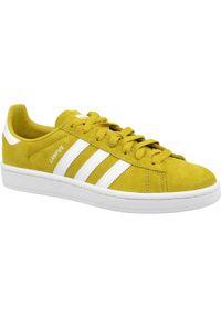 Żółte sneakersy Adidas Adidas Campus, z cholewką
