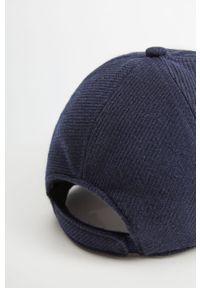 Niebieska czapka z daszkiem Mango Man