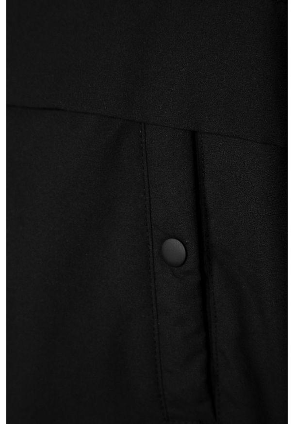 Czarna kurtka LMTD casualowa, na co dzień, z kapturem