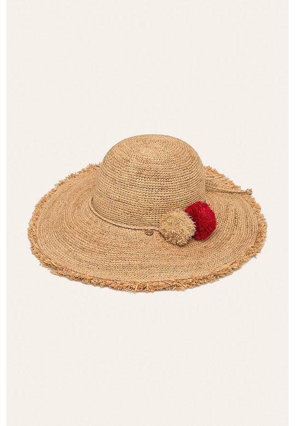 Żółty kapelusz Liu Jo