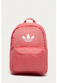 adidas Originals - Plecak. Kolor: fioletowy. Materiał: materiał