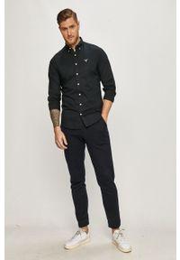 Czarna koszula GANT długa, casualowa, na co dzień