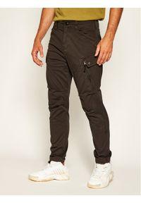 G-Star RAW - G-Star Raw Spodnie materiałowe Roxic D14515-4893-976 Szary Regular Fit. Kolor: szary. Materiał: dresówka, materiał