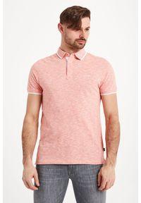 Koszulka polo Joop! Collection w jednolite wzory, polo, sportowa