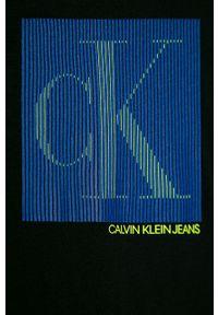 Czarny t-shirt Calvin Klein Jeans casualowy, na co dzień #3