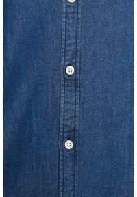 Niebieska koszula Scotch & Soda button down, długa