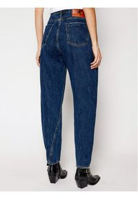 One Teaspoon Jeansy Relaxed Fit Crusarder 23668 Granatowy Relaxed Fit. Kolor: niebieski