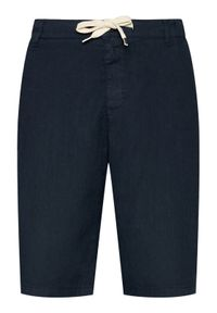 Imperial Szorty materiałowe D212BJWTD Granatowy Regular Fit. Kolor: niebieski. Materiał: materiał