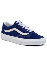 Niebieskie buty sportowe Vans z cholewką, Vans Old Skool