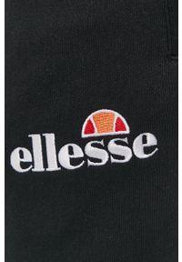 Ellesse - Spodnie. Okazja: na co dzień. Kolor: czarny. Styl: casual