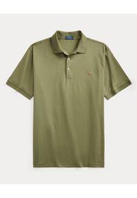 Zielone polo z krótkim rękawem Ralph Lauren polo, z haftami