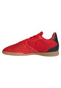 Adidas - Buty piłkarskie halowe dla dzieci adidas Predator Freak.4 IN FY6329. Materiał: guma, syntetyk. Szerokość cholewki: normalna. Sport: piłka nożna