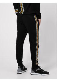 Hugo Spodnie dresowe Donburi 50448848 Czarny Regular Fit. Kolor: czarny. Materiał: dresówka